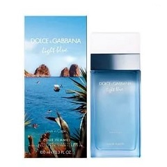 Dolce and Gabbana Light Blue Love in Capri фото