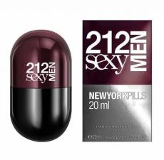 Carolina Herrera 212 Sexy Men NYC Pills фото